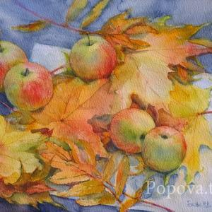 """Fragrant breath of Autumn"" Natalia Popova - Professional Artist"