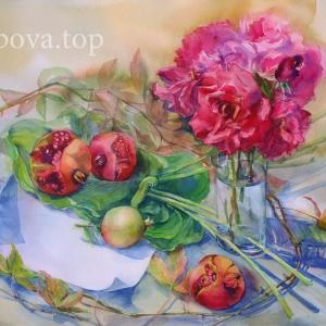"""Gifts of Crimean Autumn"" Natalia Popova - Professional Artist"