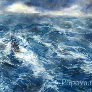 """And this, too, will pass"" Natalia Popova - Professional Artist"