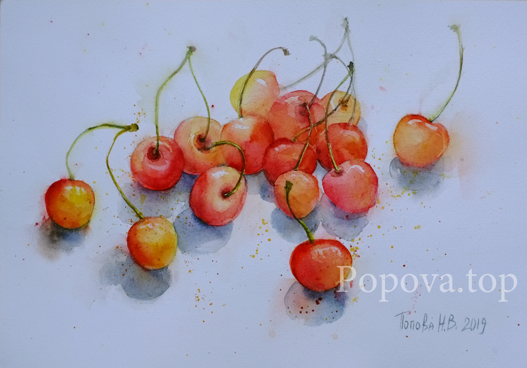 Napoleon Watercolor A4 Painting by Natalia Popova - Professional Artist in 2019